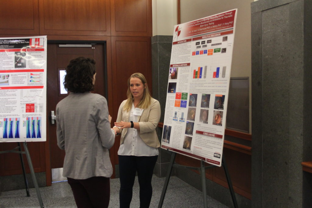 Poster Presenter - Alaine Wetli