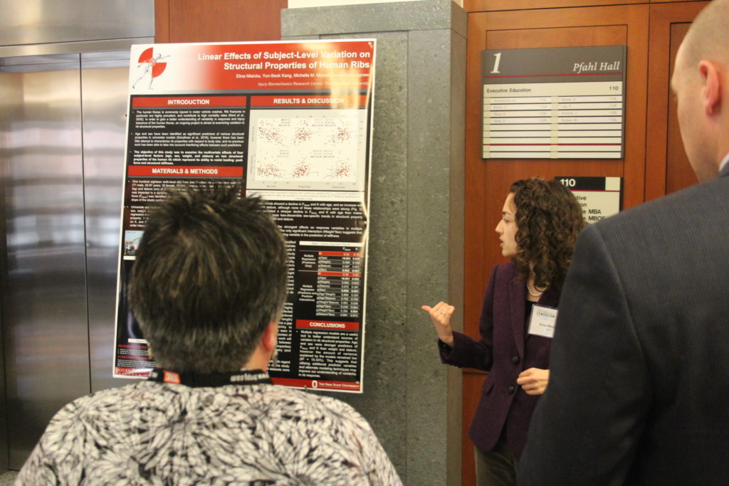 Poster Presenter - Elina Misicka