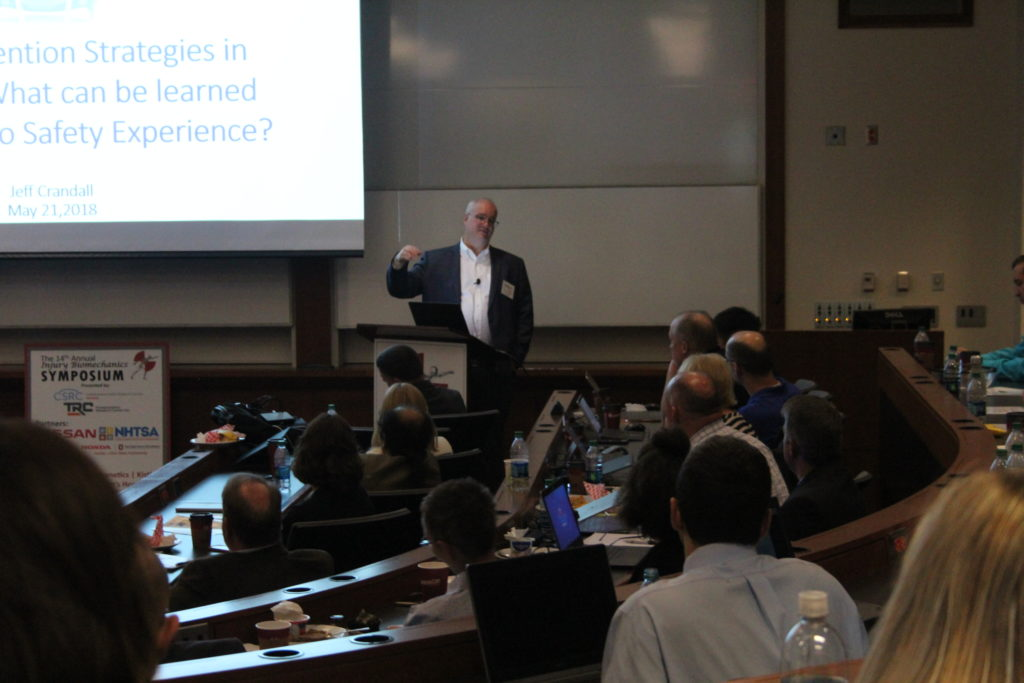 Guest speaker Dr. Jeff Crandall
