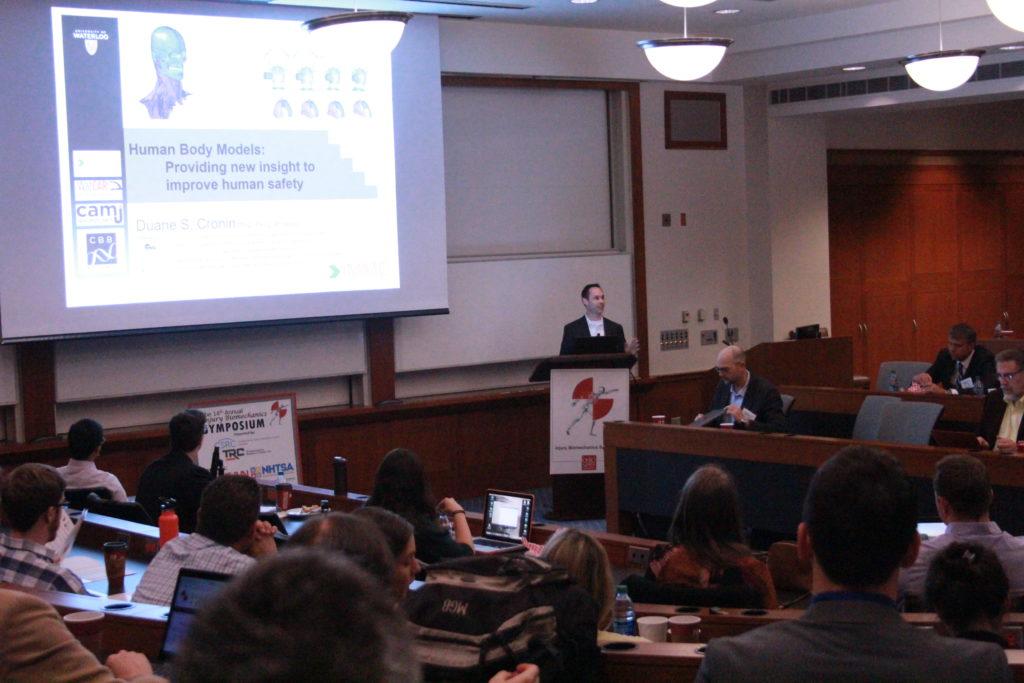 Guest speaker: Dr. Duane Cronin